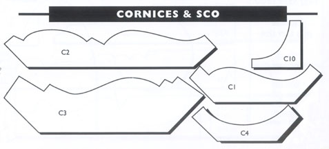 Cornices and Scotia
