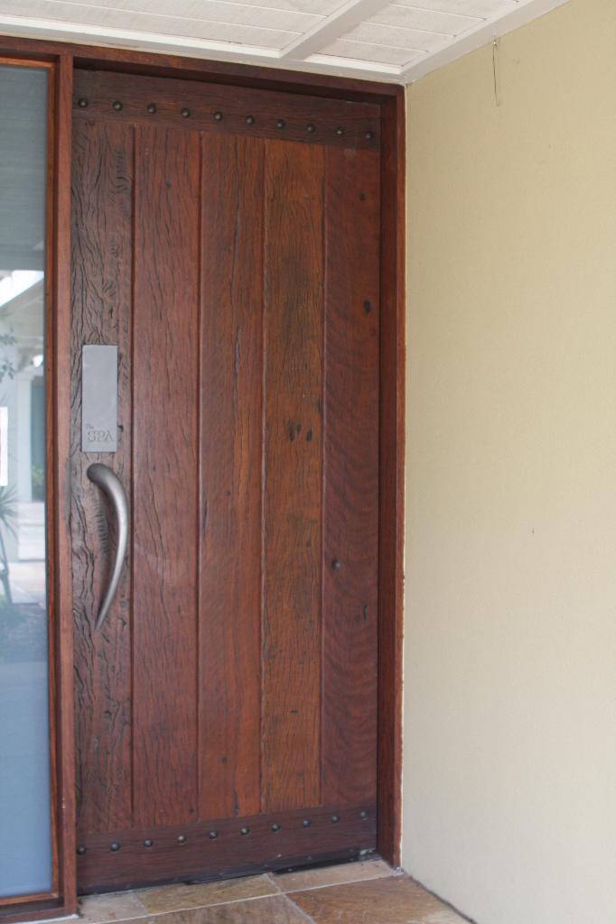Recycled Blackbutt Entry Door Woodworld Com Au