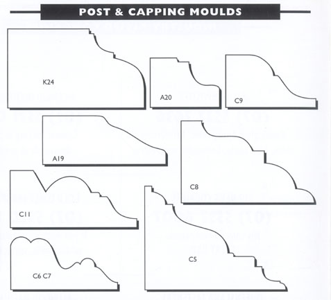 Post and Capping Moulds